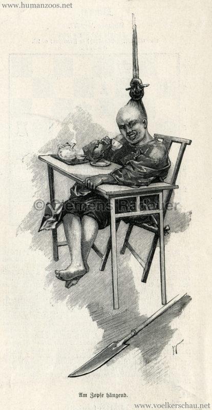 1894.10.20 Illustrirte Zeitung Nr. 2677 S. 445 - Das chinesische Theater in Berlin 3