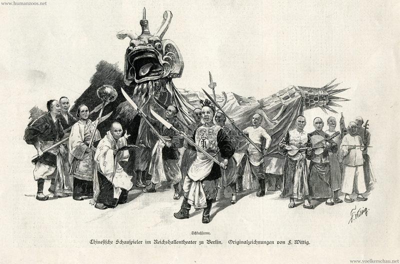 1894.10.20 Illustrirte Zeitung Nr. 2677 S. 445 - Das chinesische Theater in Berlin 4