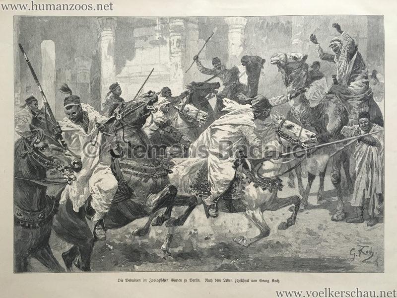1901.06.13 Illustrirte Zeitung Nr. 3024 S. 929 - Die Beduinen im Zoologischen Garten zu Berlin