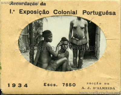 1934 Exposicao Colonial Portuguesa - FOTO HEFTCHEN - 1 COVER