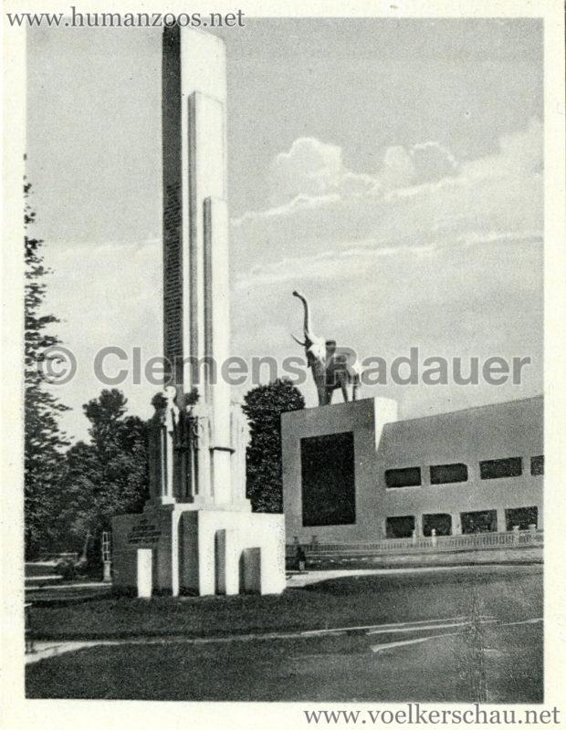 1934 Exposicao Colonial Portuguesa - FOTO HEFTCHEN - 32349 Monumento Ao Esforco Colonisador Portuguez