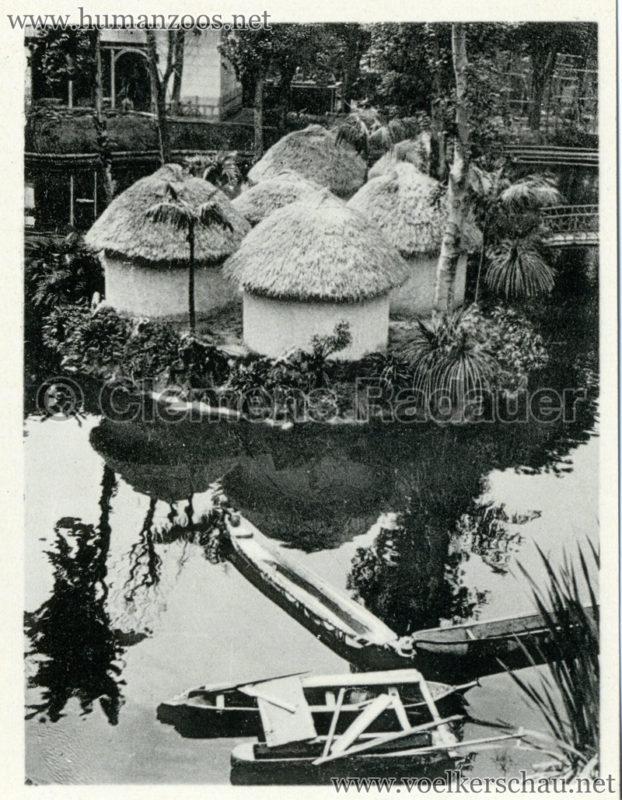 1934 Exposicao Colonial Portuguesa - FOTO HEFTCHEN - 32353 Aldeia de Bijagos