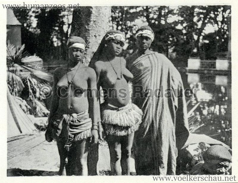 1934 Exposicao Colonial Portuguesa - FOTO HEFTCHEN - 32354 3 Gracas Indigenas