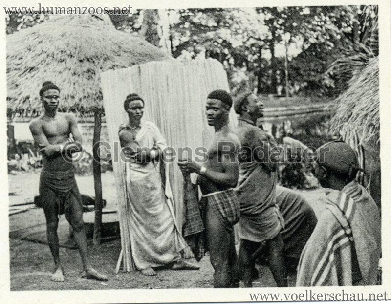 1934 Exposicao Colonial Portuguesa - FOTO HEFTCHEN - 32357 Grupo de colonos da Guine