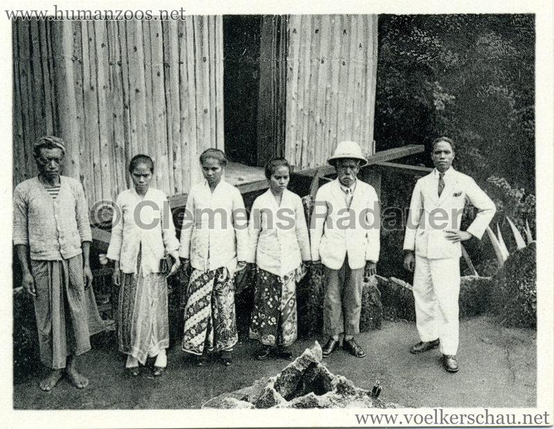 1934 Exposicao Colonial Portuguesa - FOTO HEFTCHEN - 32359 Grupo de representantes da Colonia de Timor