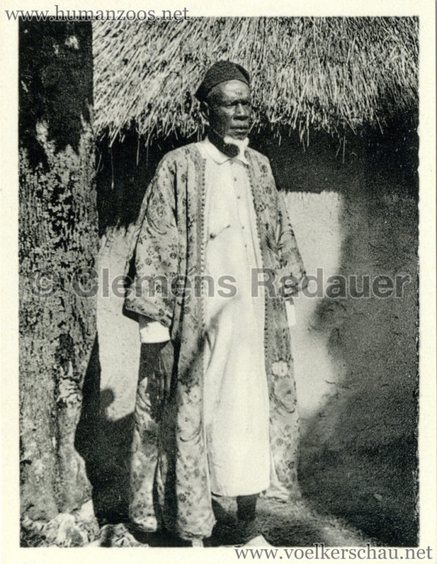 1934 Exposicao Colonial Portuguesa - FOTO HEFTCHEN - 32360 O Soba da Guine Mamudo Sisse