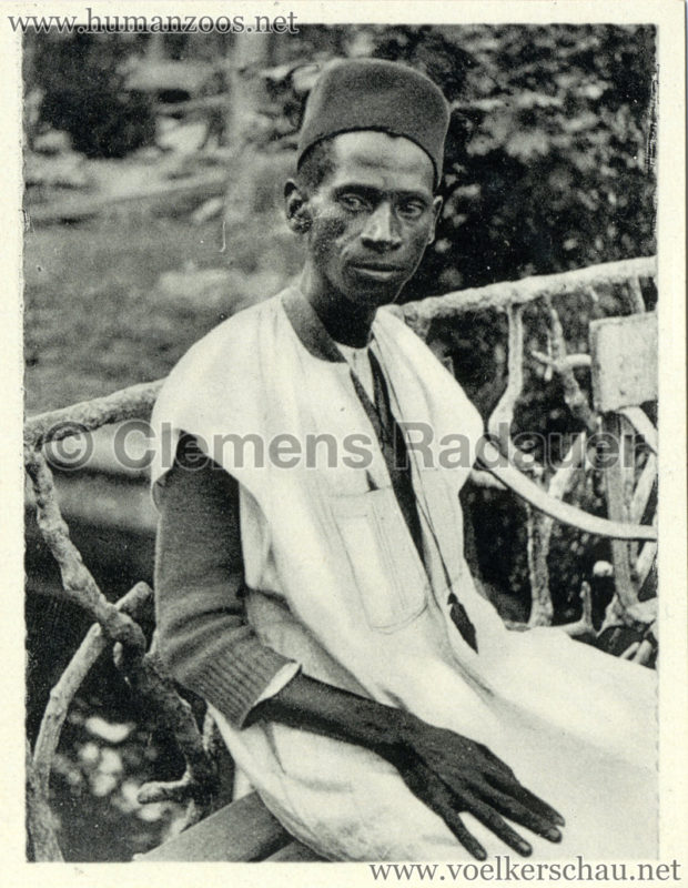 1934 Exposicao Colonial Portuguesa - FOTO HEFTCHEN - 32361 Typo de raca Bijagos