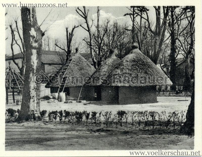 1934 Exposicao Colonial Portuguesa - FOTO HEFTCHEN - 32362 Cubatas Habitacao dos Indigenas