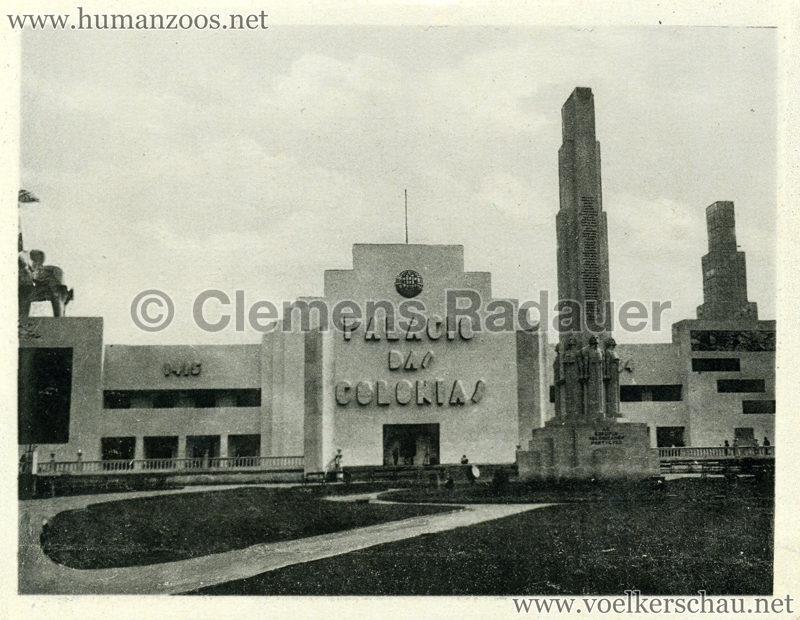 1934 Exposicao Colonial Portuguesa - FOTO HEFTCHEN - 32363 Fachado do Palacio das Colonias