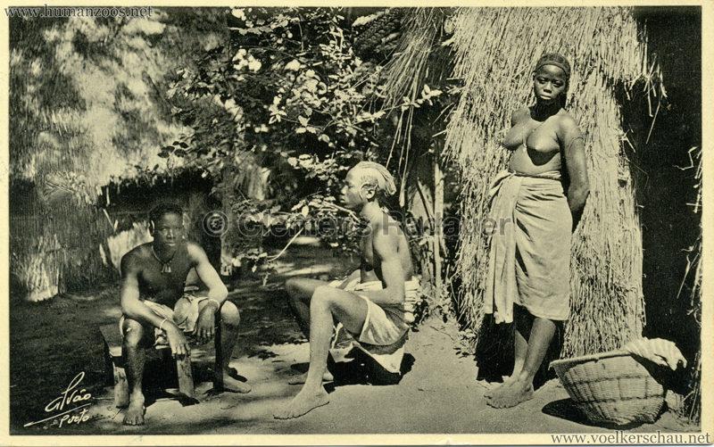 1934 Exposicao Colonial Portuguesa Porto - 44. Indigenas Balantas Guine