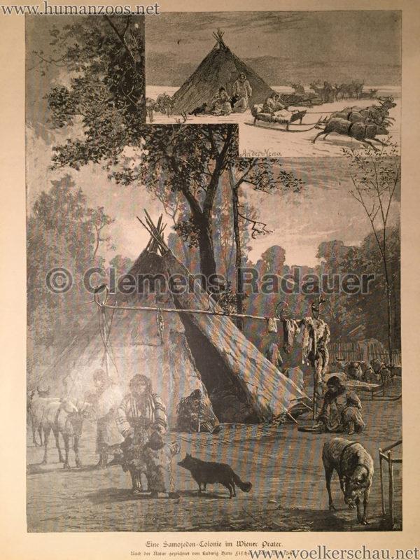 1882 (??) Eine Samojeden-Colonie im Wiener Thiergarten