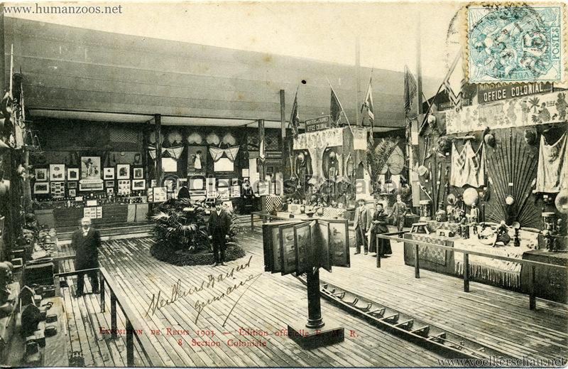 1903 Exposition de Reims - 8. Section Coloniale