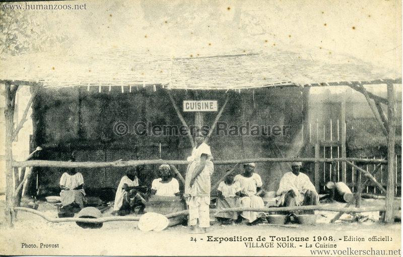 1908 Exposition de Toulouse - 24. Village Noir - La Cuisine
