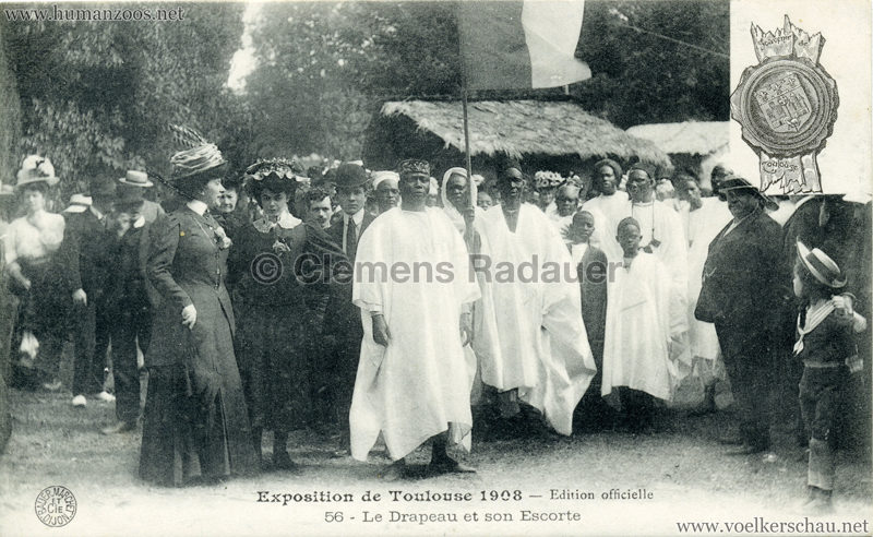 1908 Exposition de Toulouse - 56. Le Drapeu et son Escorte