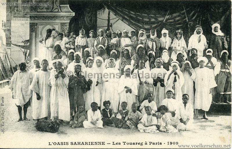 1909 L'Oasis saharienne - Les Touareg a Paris 1