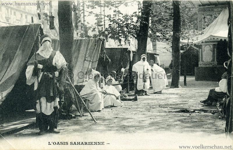 1909 L'Oasis saharienne - Les Touareg a Paris 2
