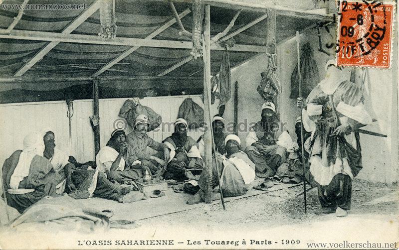 1909 L'Oasis saharienne - Les Touareg a Paris 3