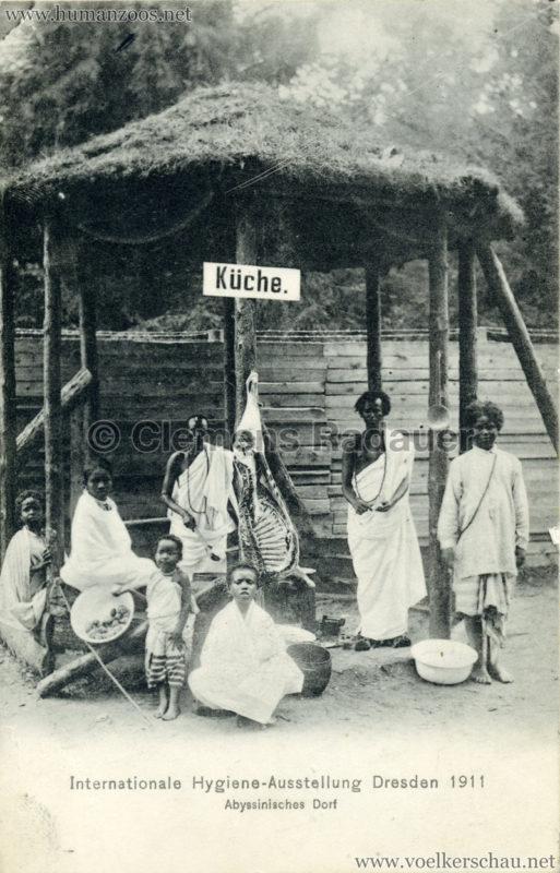 1911 Internationale Hygieneausstellung Dresden - Abyssinisches Dorf 2