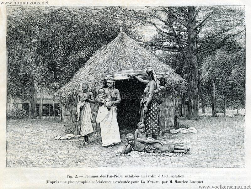 1893 pai pi bri jardin d acclimatation human zoos for Atelier du jardin d acclimatation