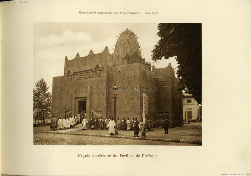 1925 L'Exposition Internationale des Arts Decoratifs et Industriels Modernes - Section Coloniale Afrique 4