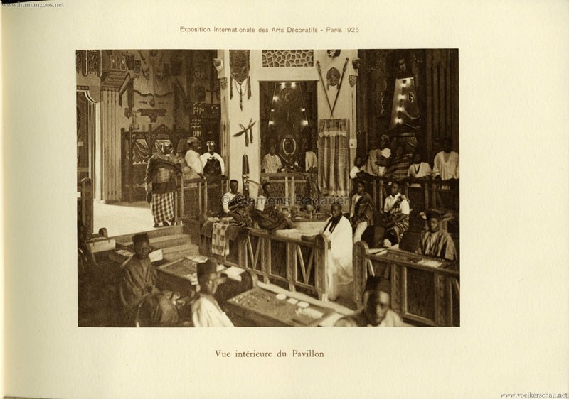 1925 L'Exposition Internationale des Arts Decoratifs et Industriels Modernes - Section Coloniale Afrique 5