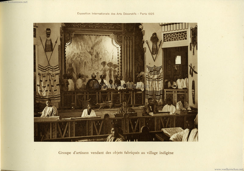1925 L'Exposition Internationale des Arts Decoratifs et Industriels Modernes - Section Coloniale Afrique 6