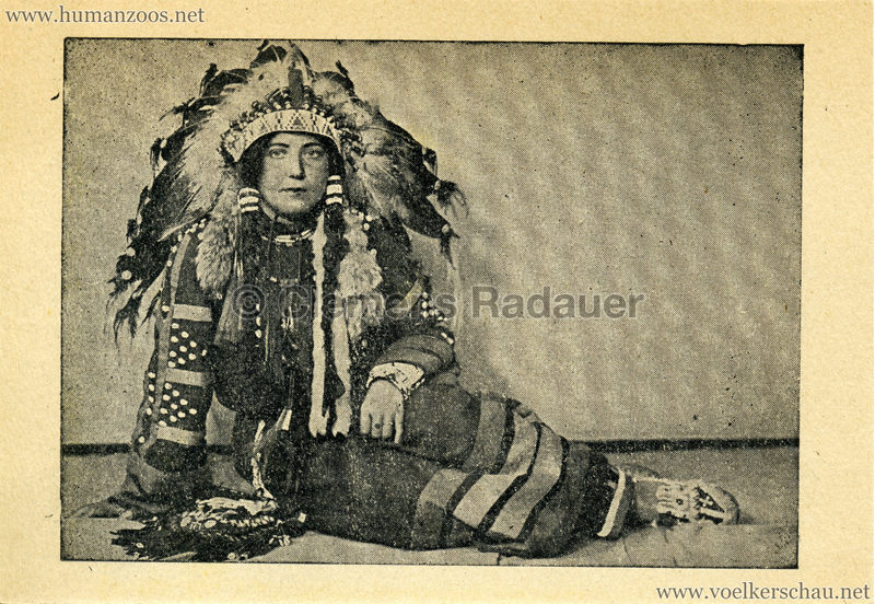 1938 Cirque de France Amar - Indianerin