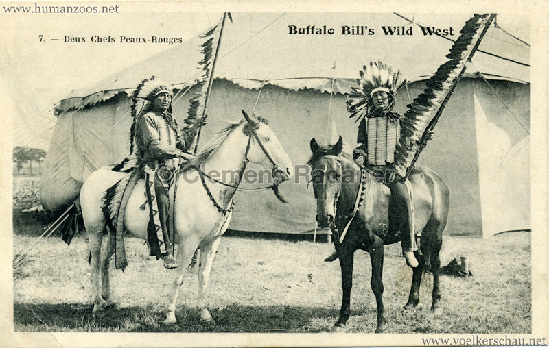 Buffalo Bill's Wild West - 7. Deux Chefs Peaux Rouges