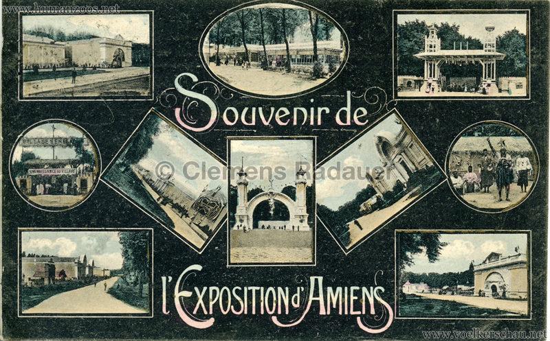 1906 Exposition Internationale d'Amiens