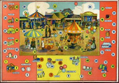 Brettspiel Jahrmarkt