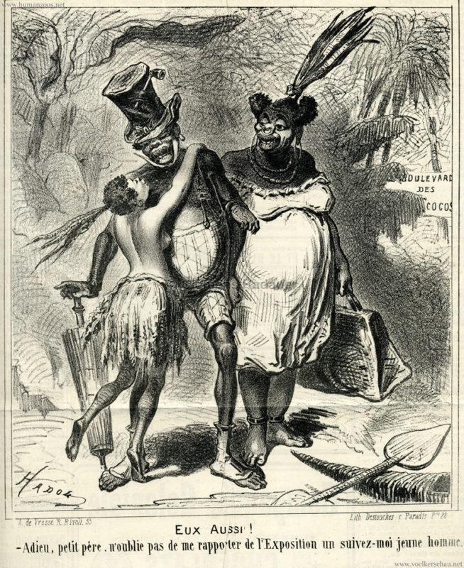 1867.06.25 Le Chivari - Exposition Afrikaner