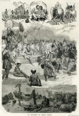 1887.12.31 L'Illustration - Les Ceylanais au Cirque d'Hiver