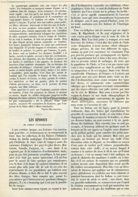 1903 La Nature - Les Hindous du Jardin d'Acclimatation 1