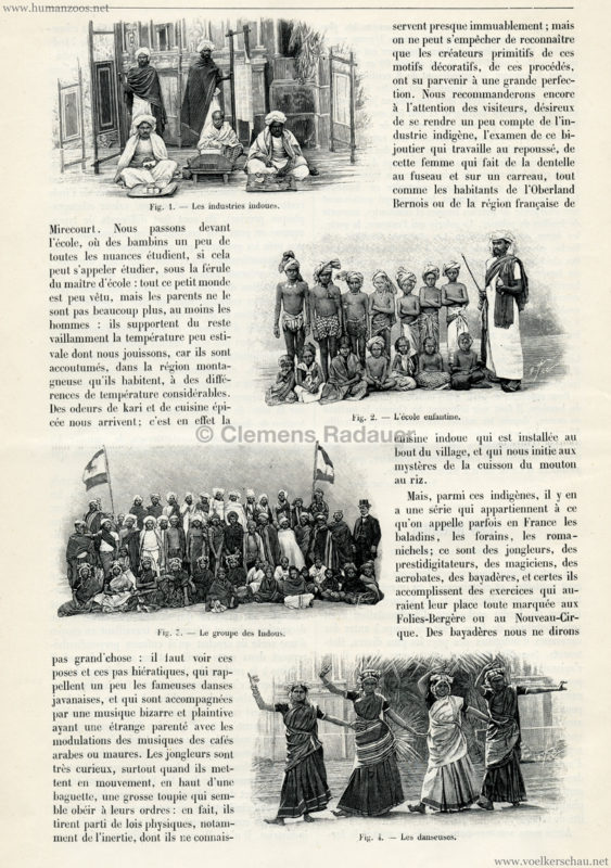 1903 La Nature - Les Hindous du Jardin d'Acclimatation 2