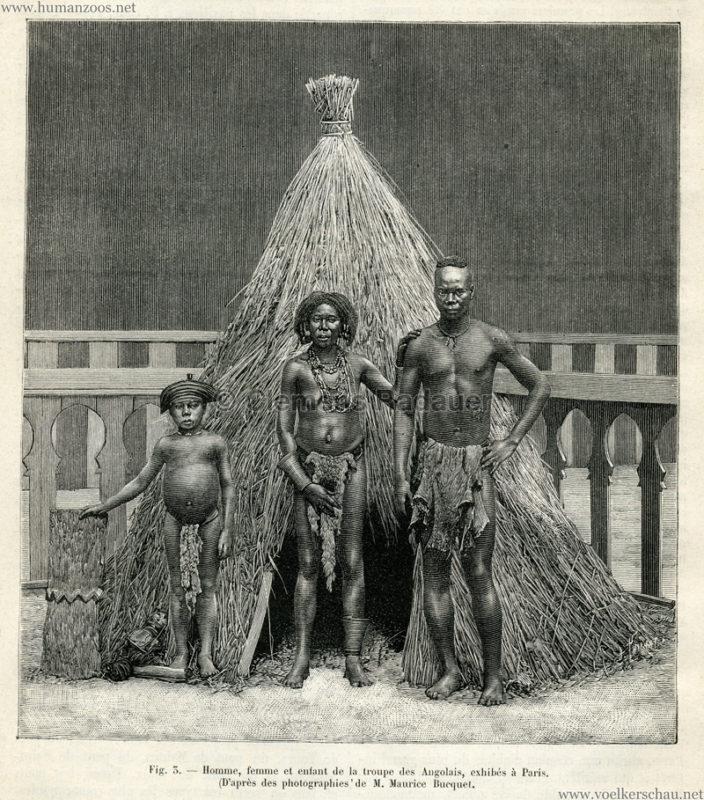 1889.07.27 La Nature no 843 - Les Angolais a Paris S. 133 Detail