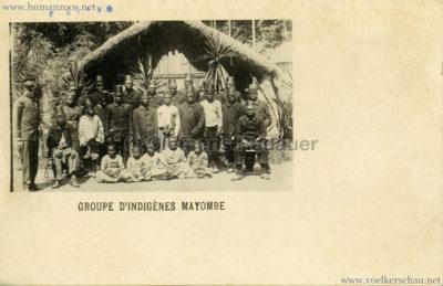 1897 Exposition Internationale de Bruxelles Tervueren - Groupe d'Indigenes Mayombe