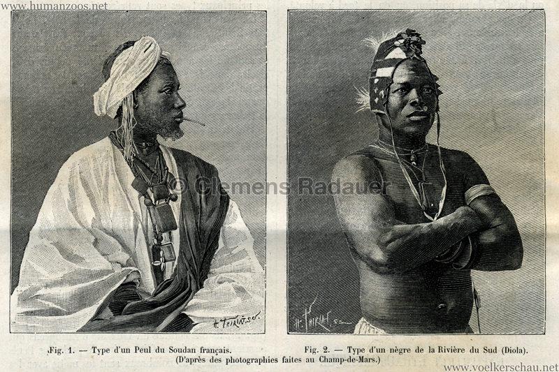 1895.08.17 La Nature - Exposition Ethnographique S 184 Detail