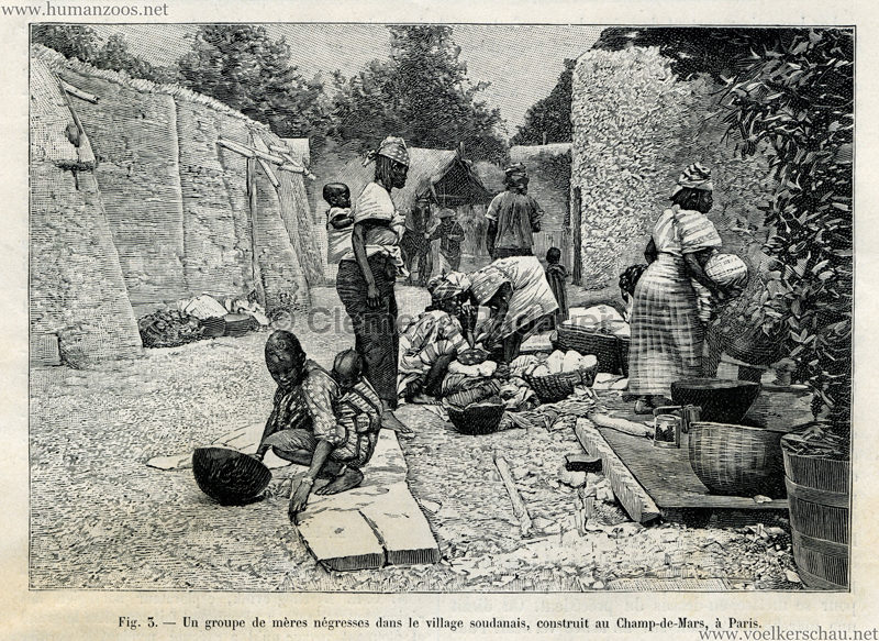 1895.08.17 La Nature - Exposition Ethnographique S 185 Detail 1