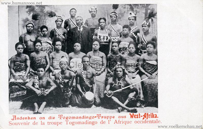 Andenken an die Togomandingo-Truppe aus West-Afrika 2