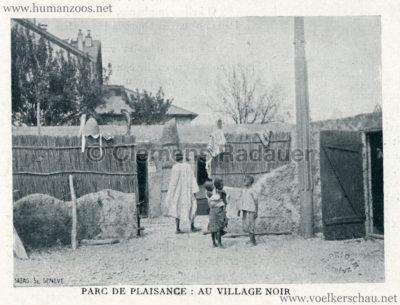 1896 L'Exposition Nationale Suisse Geneve - Journal Officiel Illustre - Village Noir 1 kopieren