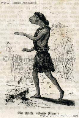 1856 Die Gartenlaube 4776 S 156 Die Azteken, der Buschmann und die Corana S. 157 Detail 2