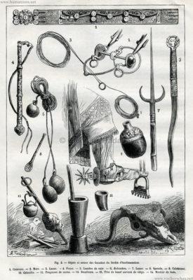 1878.10.05 La Nature No 279 - Les Gauchos du J'ardin d'Acclimatation Detail 2