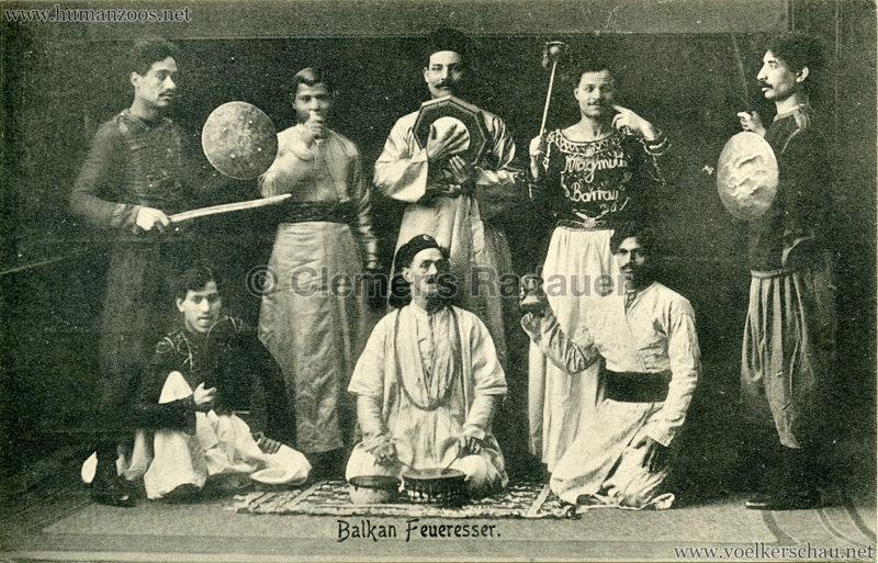 1899 Balkan Feueresser Passage-Panoptikum