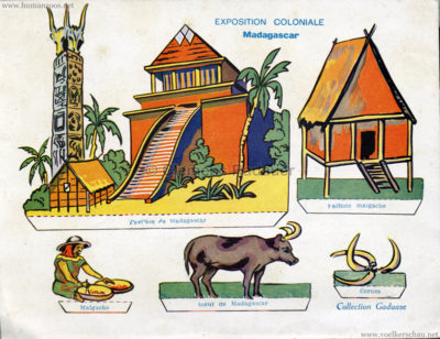 1931 Exposition Coloniale Internationale Paris - Collection Gaduase - Madagacar