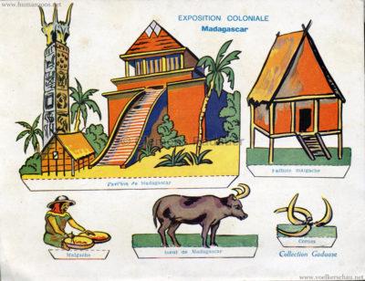 1931 Exposition Coloniale Internationale Paris - Collection Gaduase - Madagacar