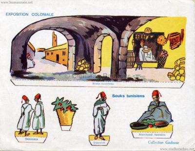 1931 Exposition Coloniale Internationale Paris - Collection Gaduase - Souks Tunisiens