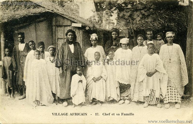 Village Africain - 17. Chef et sa Famille