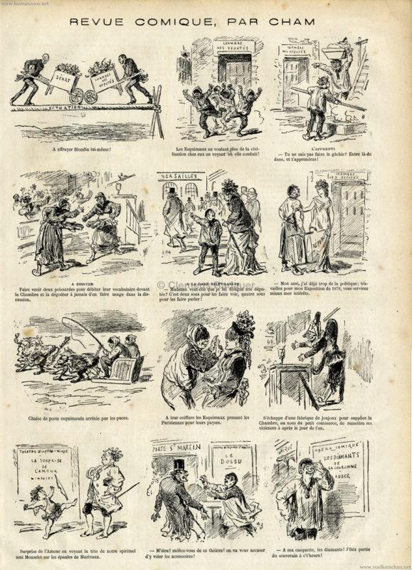 1877.11.24 Le Monde Illustre - Esquimaux
