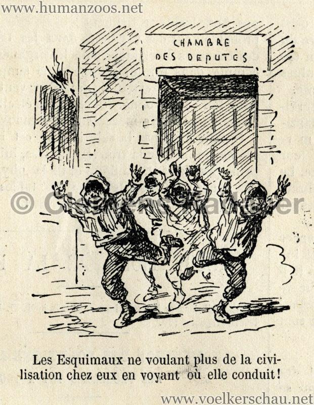 1877.11.24 Le Monde Illustre - Esquimaux D1
