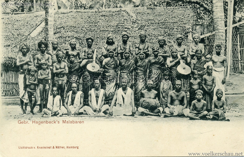 1900 Gebr. Hagenbeck's Malabaren 2